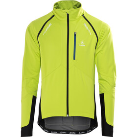Löffler San Remo WS Softshell Light Veste de cyclisme zippée Homme, light green